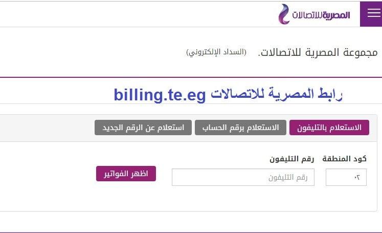 المصرية-للاتصالات-billing.te_.eg-فاتورة-التليفون-الأرضي-2019-برقم-التليفون.jpg